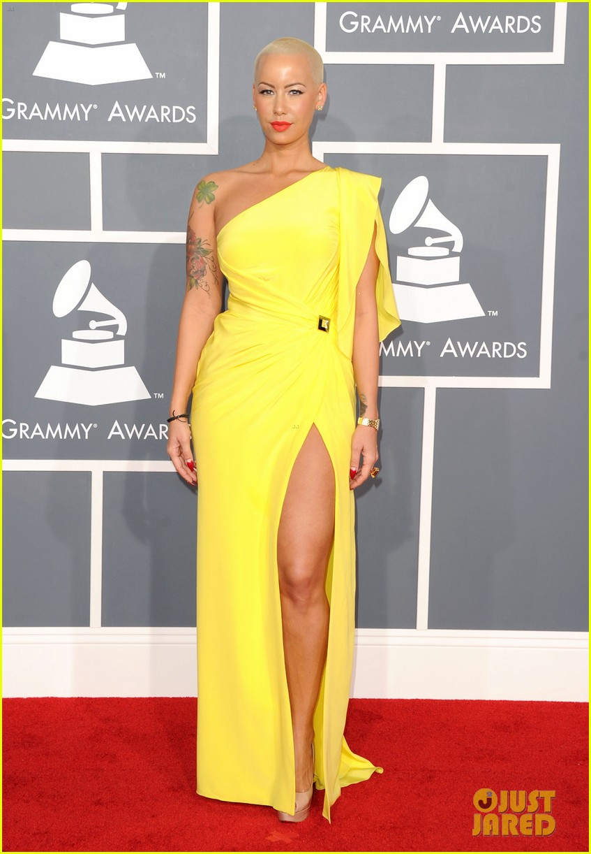 amber rose wiz khalifa grammys 02