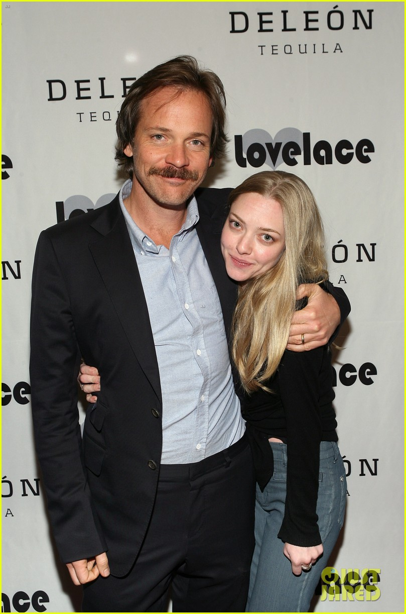 amanda seyfried peter sarsgaard lovelace wrap party 02