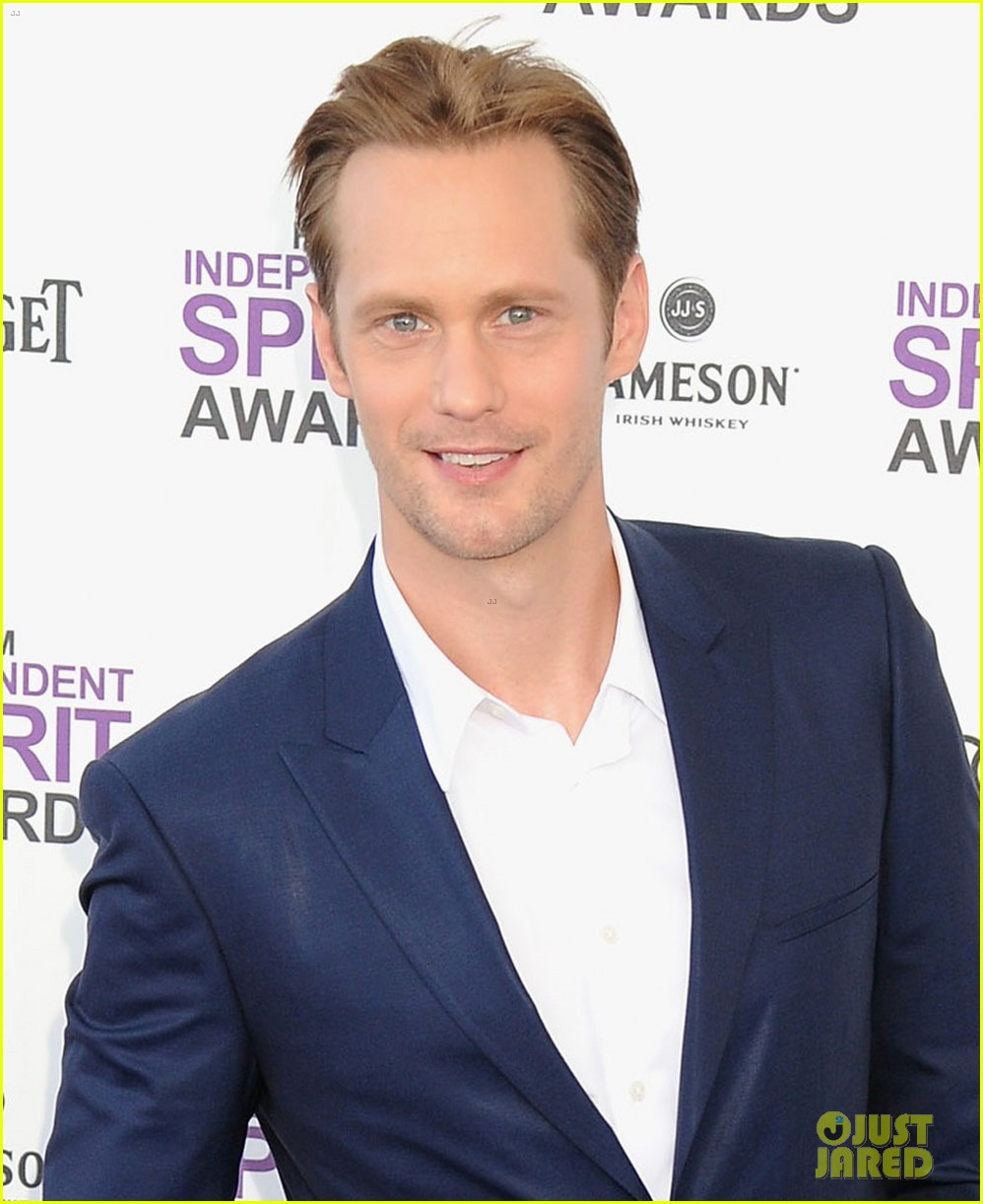 alexander skarsgard spirit awards 2012 02