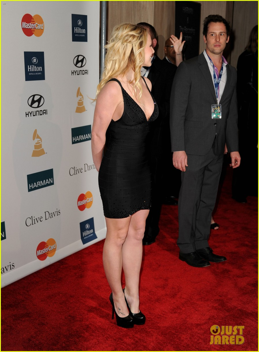 britney spears clive davis party 06