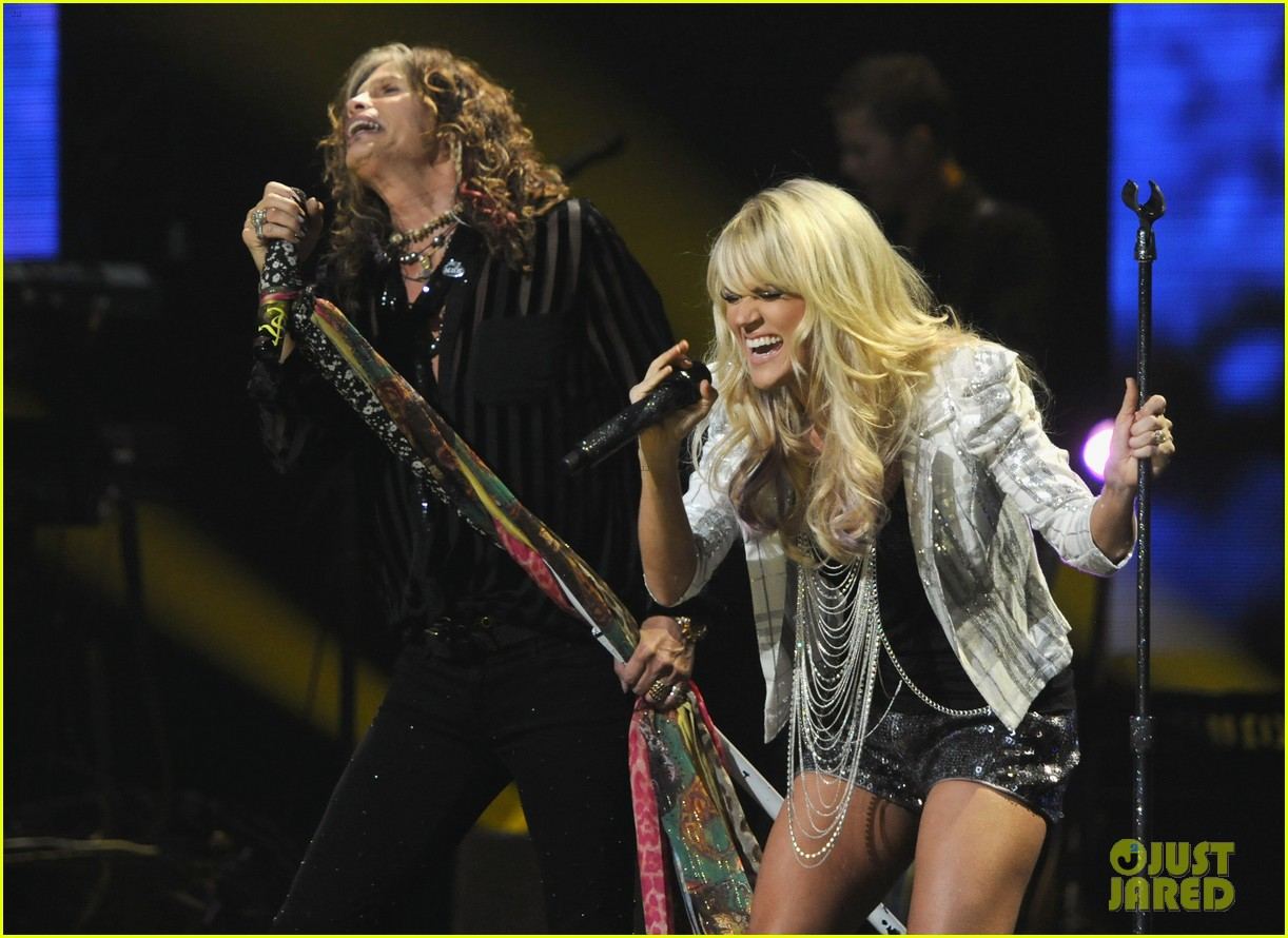 carrie underwood steven tyler cmt fan jam 13