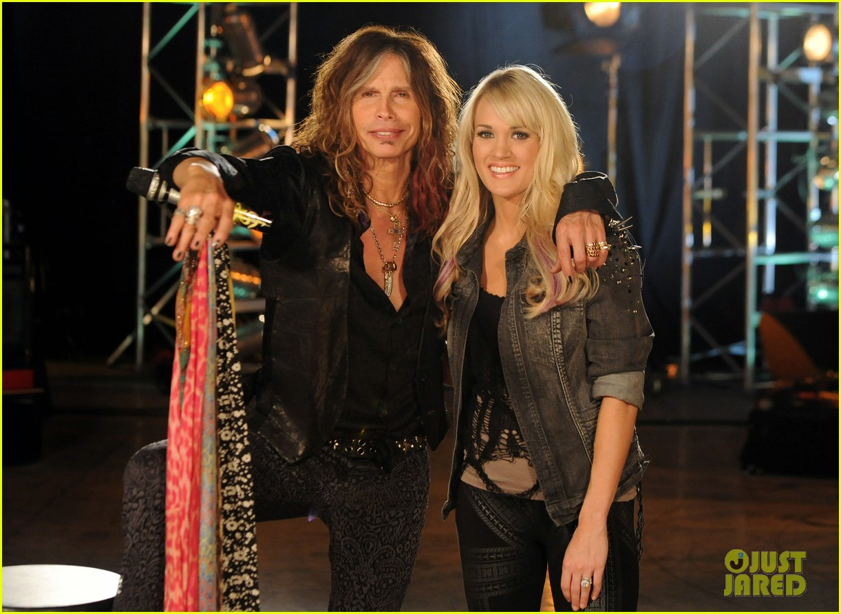 carrie underwood steven tyler cmt crossroads 03