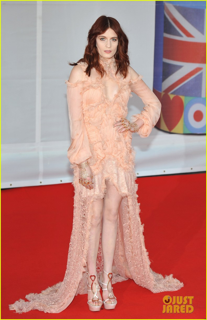 florence welch brit awards 2012 092631524