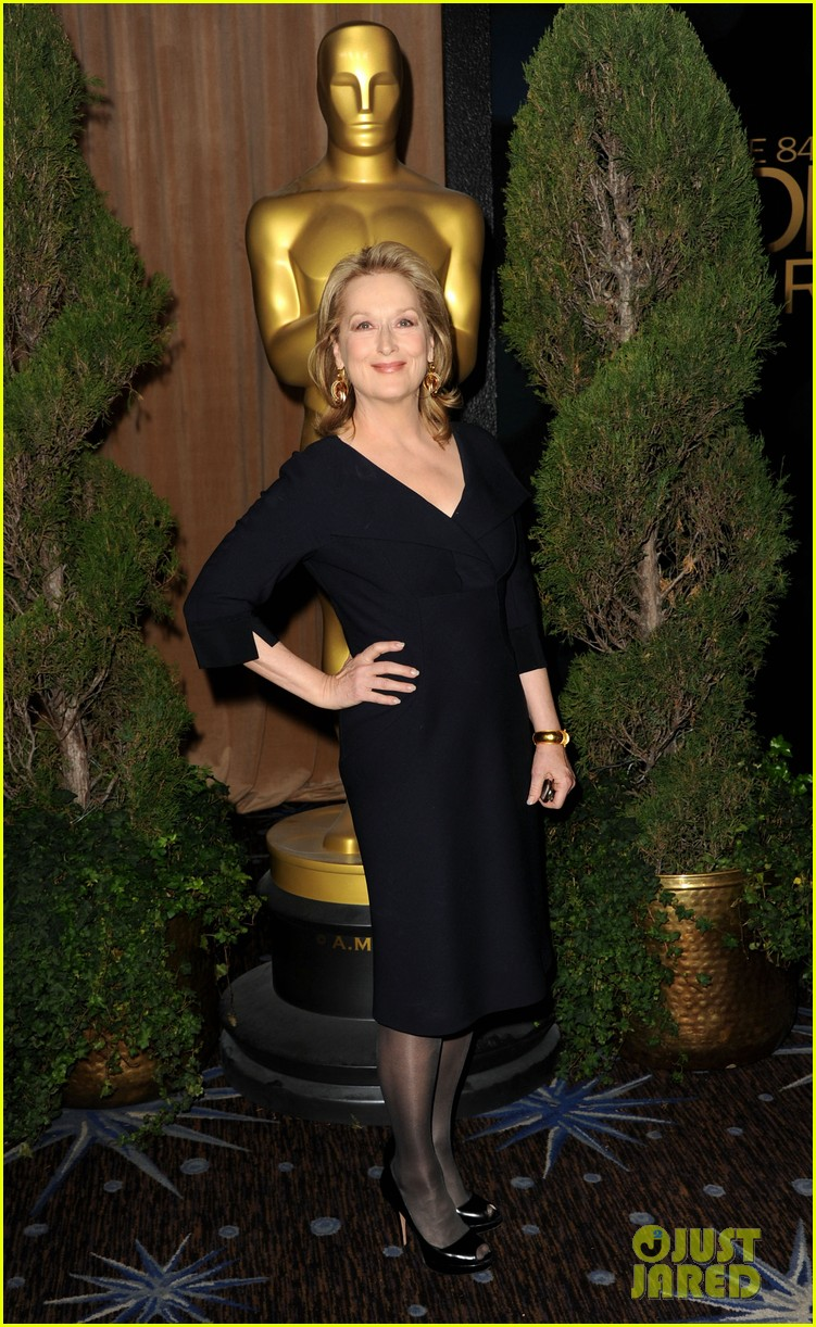 michelle williams meryl streep oscar luncheon 02