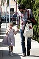 ben affleck brings violet to ballet class 13