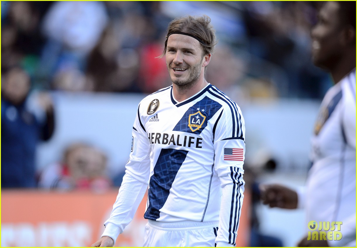 david beckham first l a galaxy win of the season 11