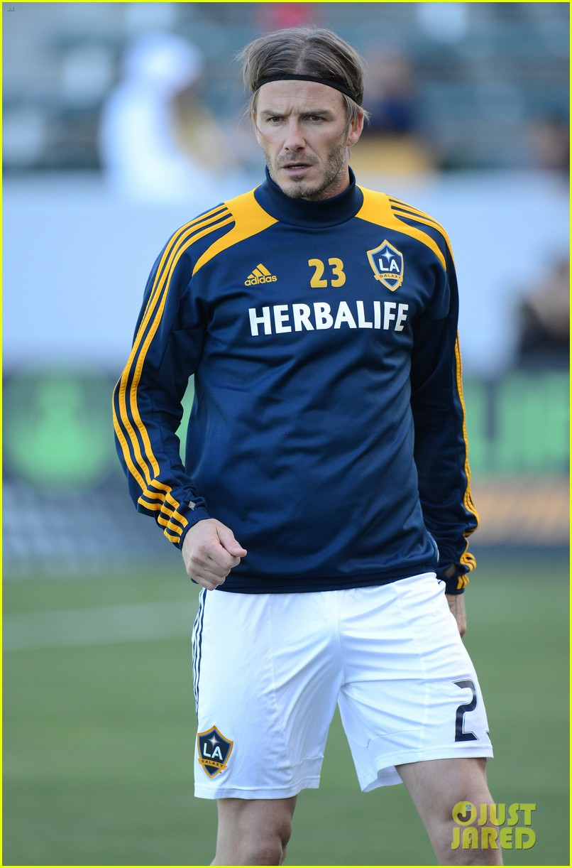 david beckham first l a galaxy win of the season 14