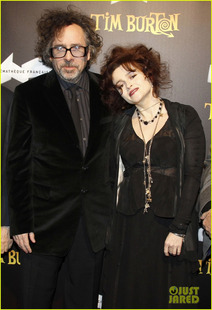 helena bonham carter tim burton exhibition with eva green 01