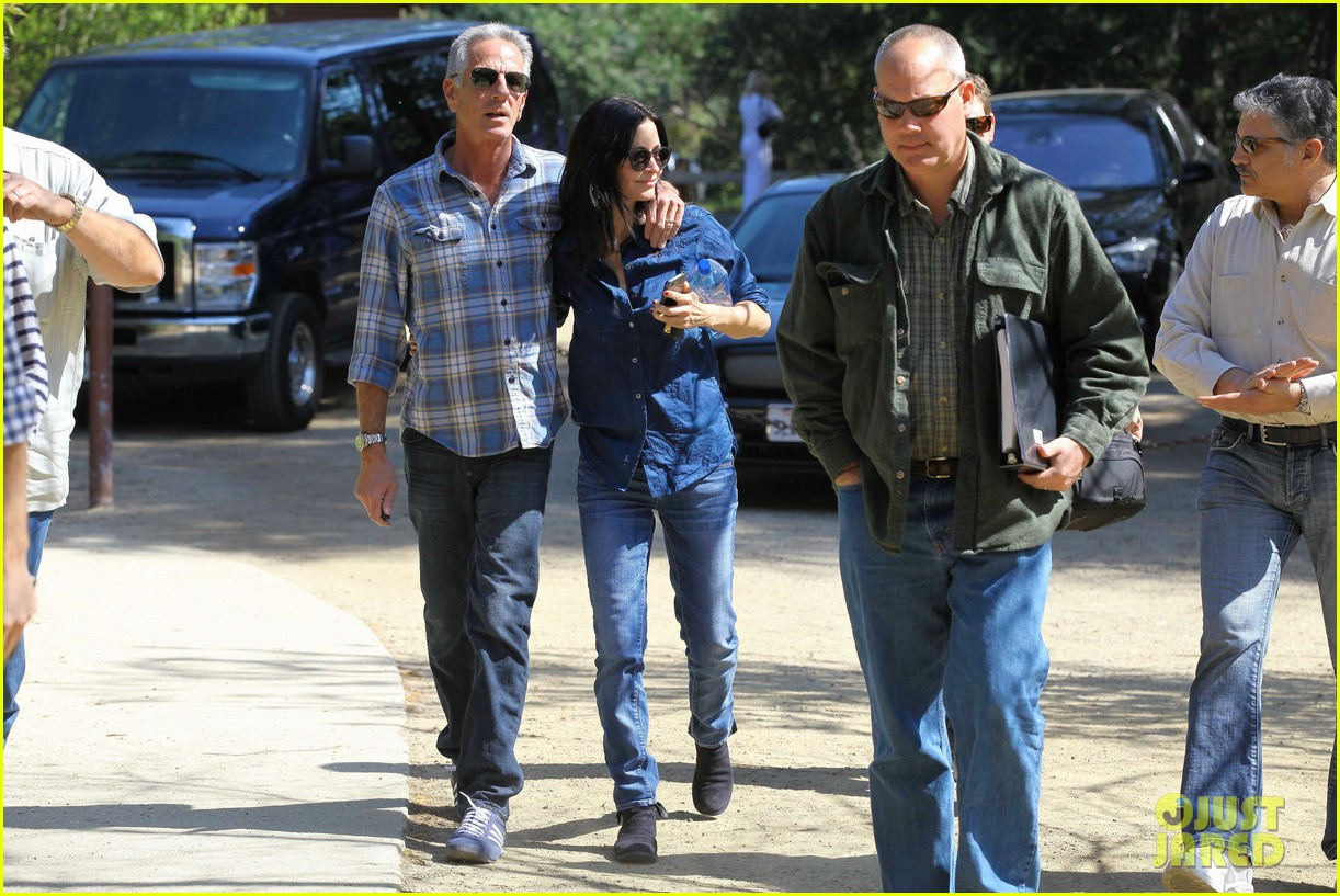 courteney cox cougar town location scouting 19