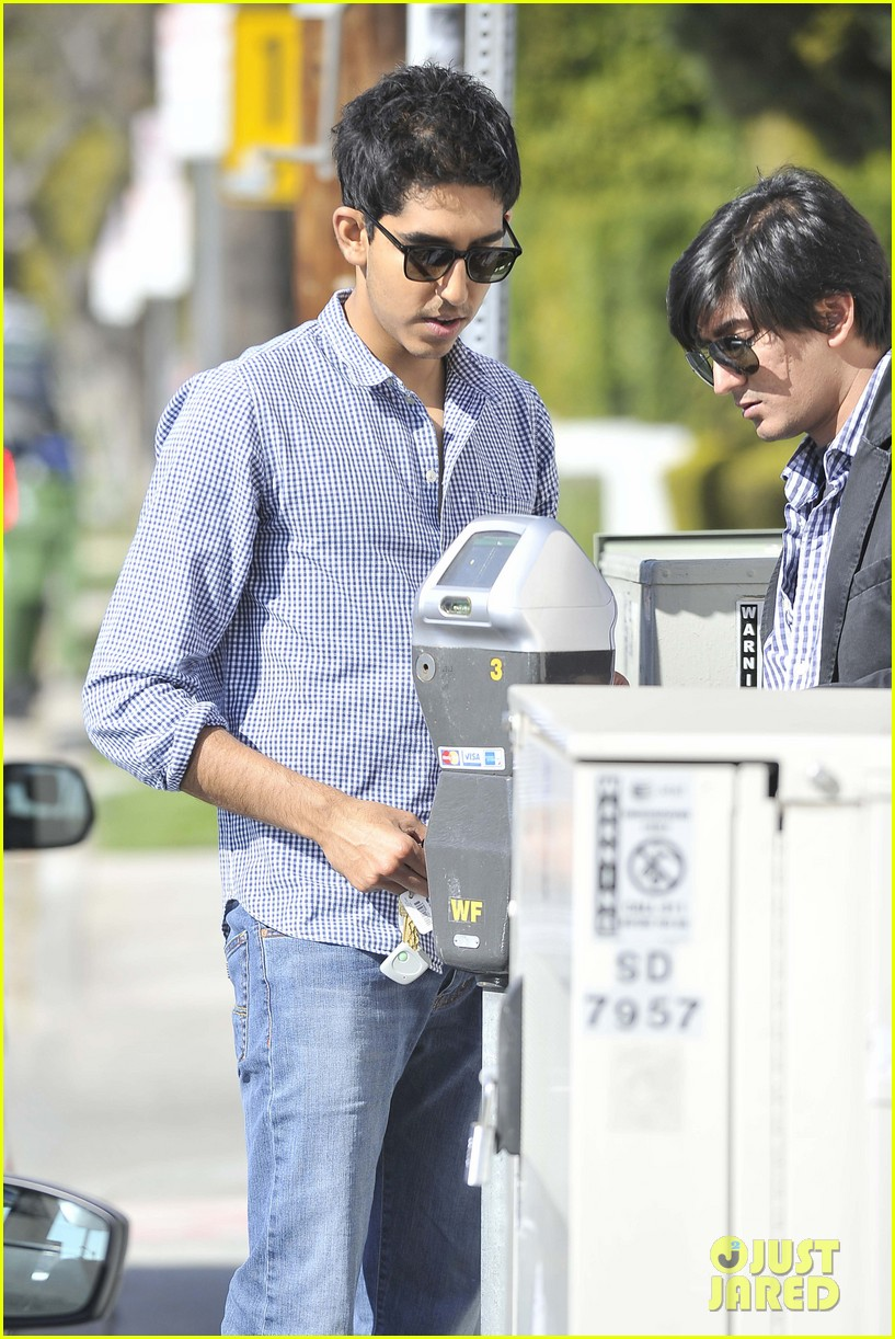 dev patel joans on third lunch 10