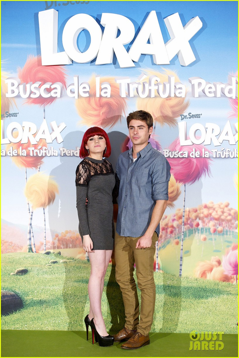 zac efron lorax photo call madrid 01