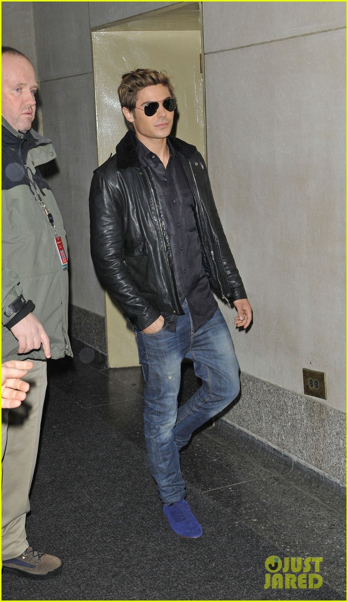 zac efron today show 01