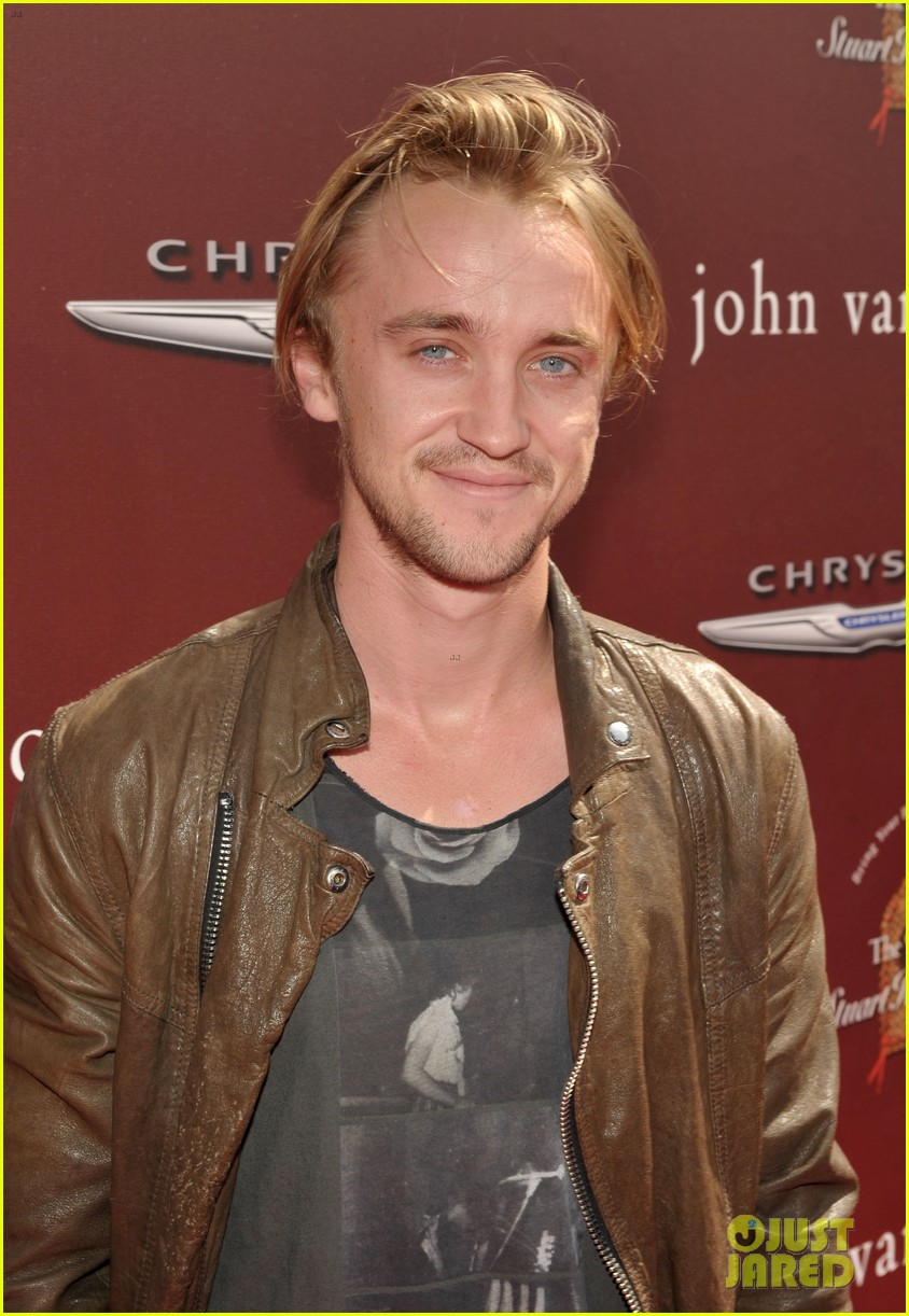 tom felton john varvatos stuart house benefit with jade olivia 01