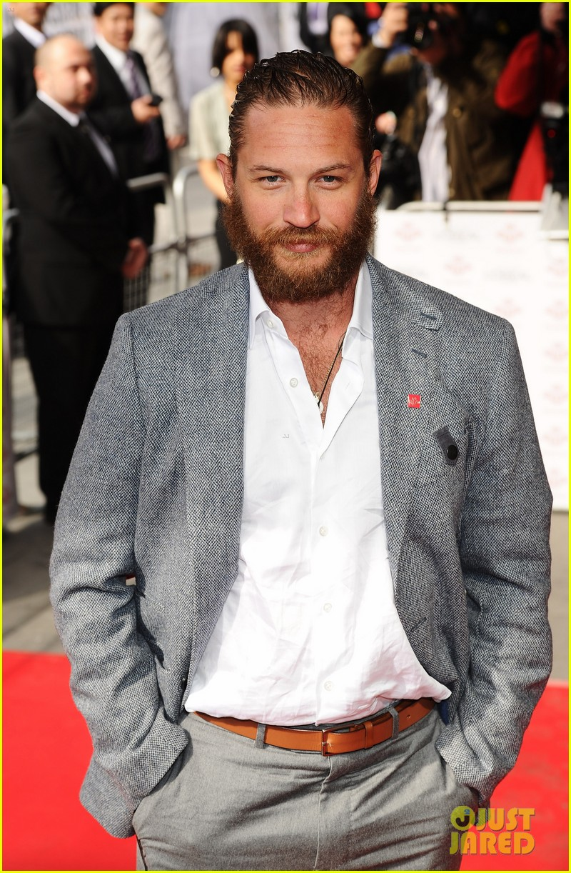 tom hardy beard princes trust 06