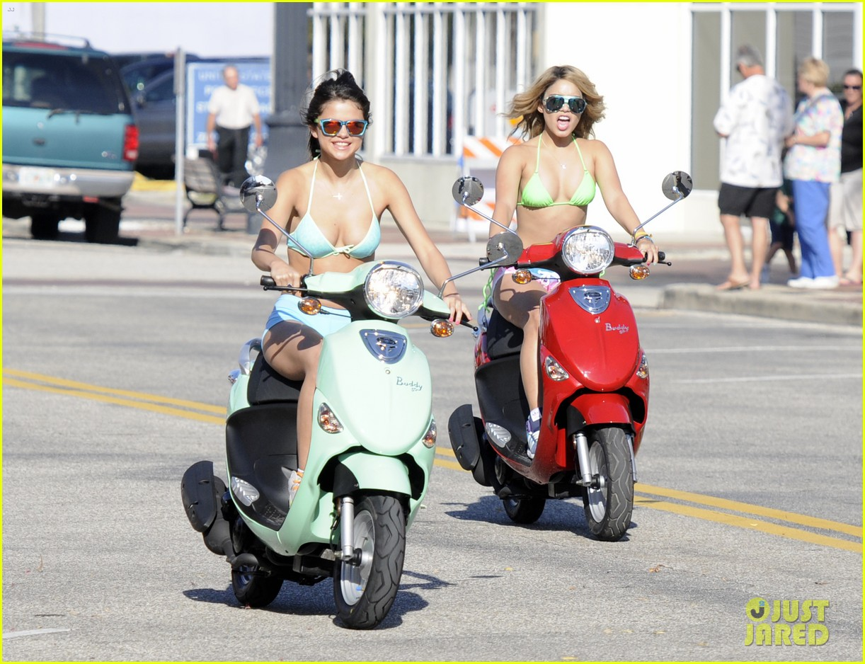 vanessa hudgens bikini scooter spring breakers 05