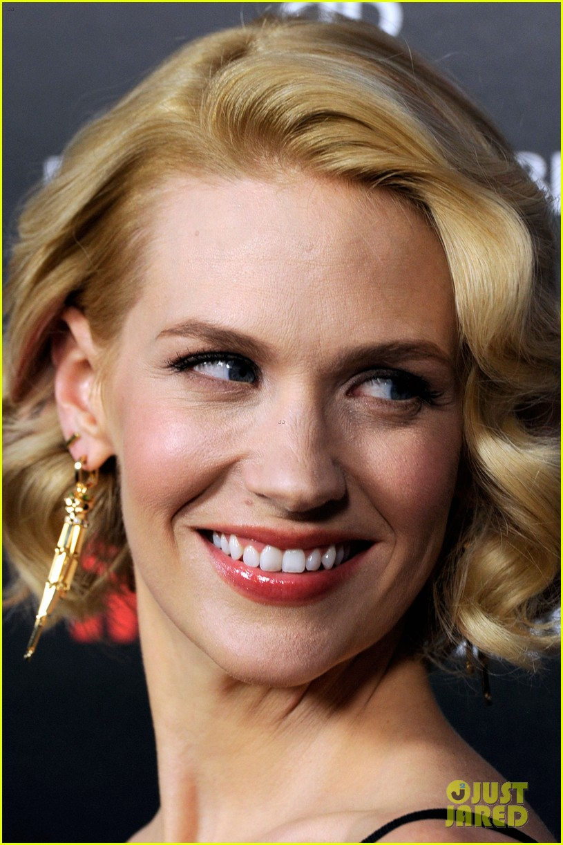 january jones jon hamm mad men premiere 112639068
