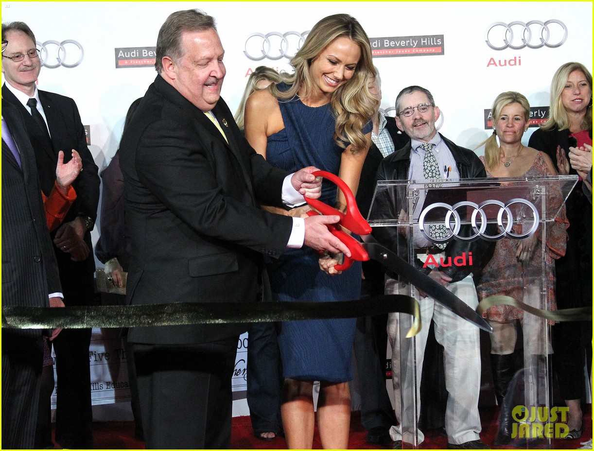 stacy keibler audi opening 102637442