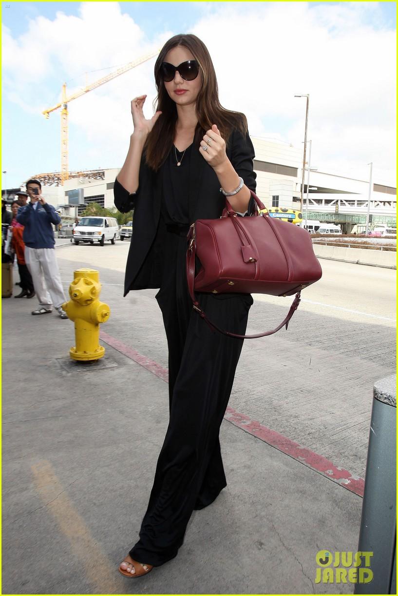miranda kerr lax black outfit 09