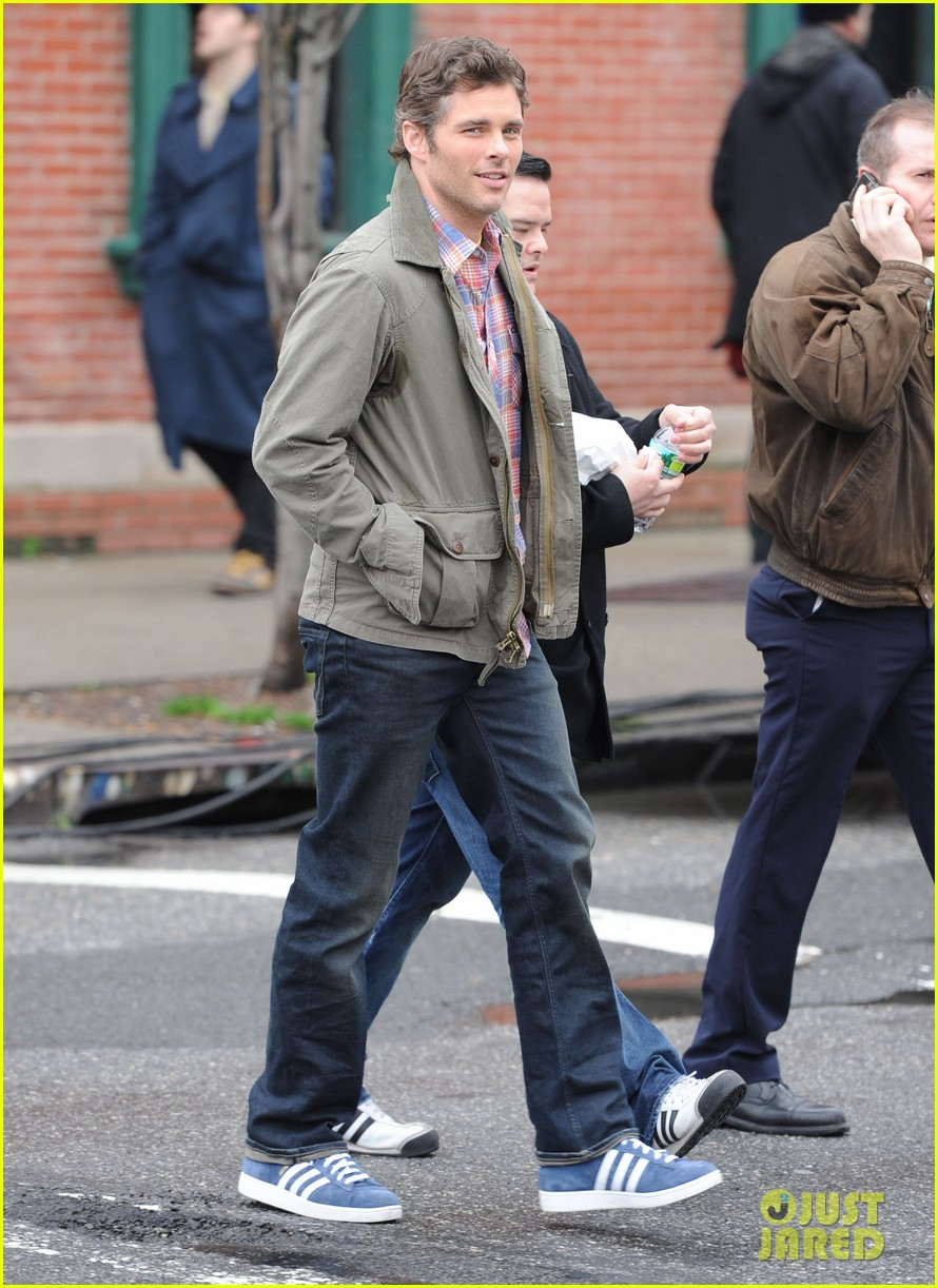 james marsden new york filming 042639770