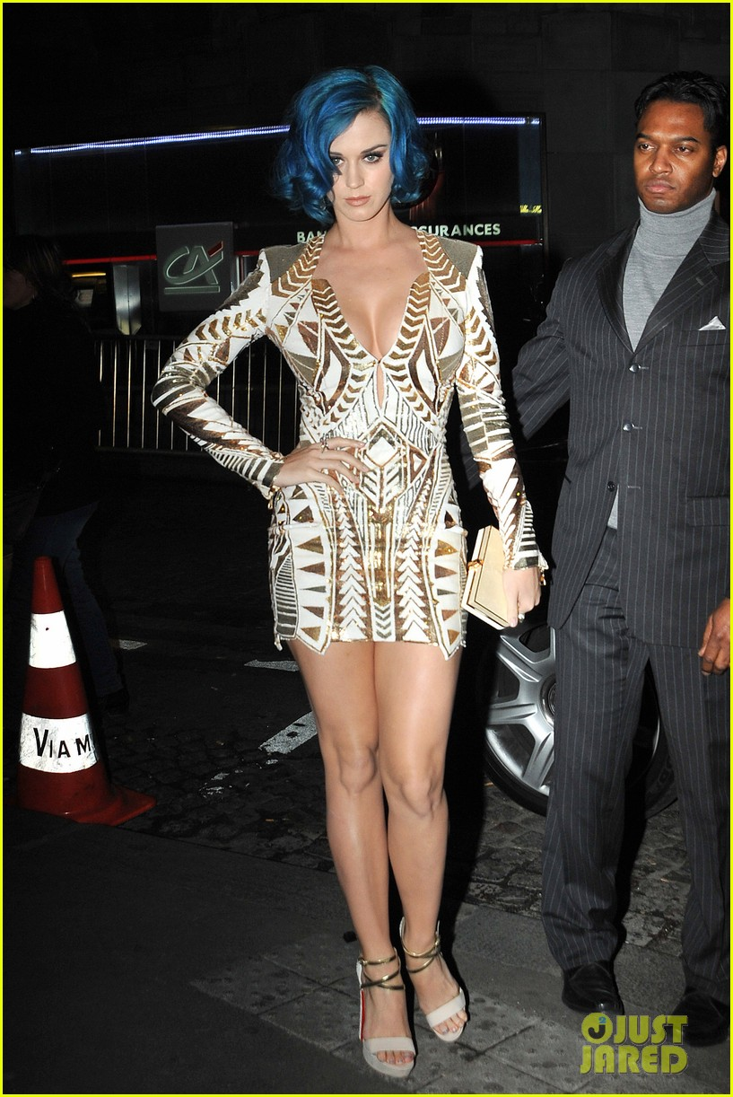 katy perry karl lagerfeld dinner 01