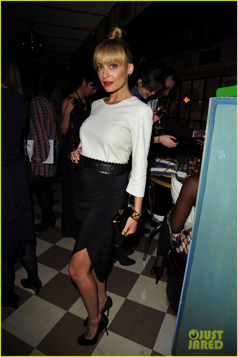 nicole richie fashion star premiere party 12