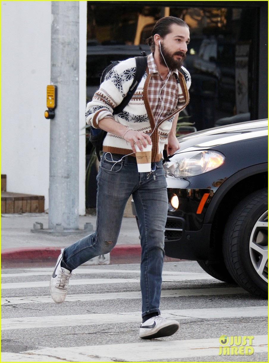 shia labeouf beard coffee 042637380