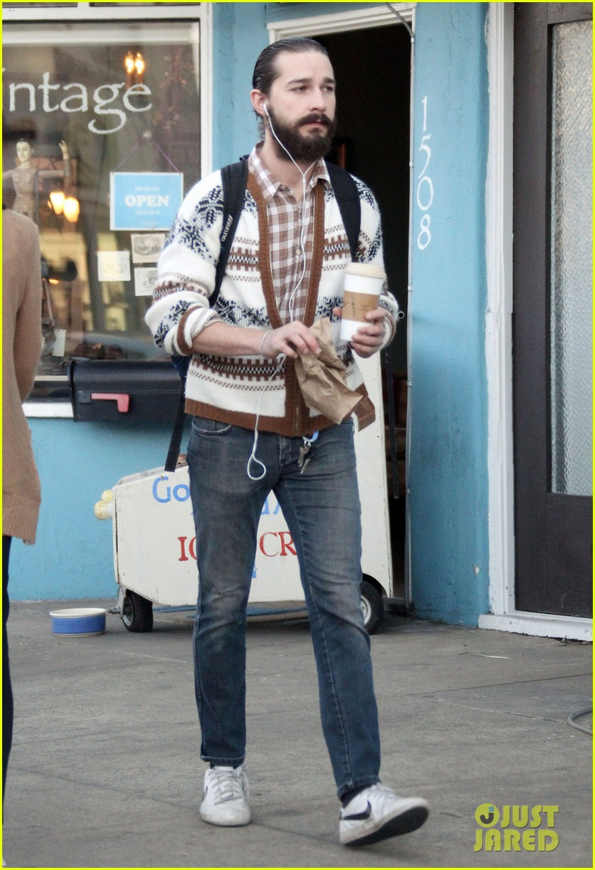 shia labeouf beard coffee 05