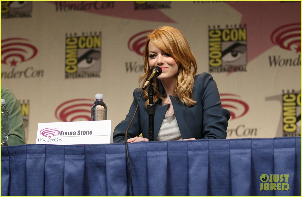 emma stone amazing spider man wondercon 03