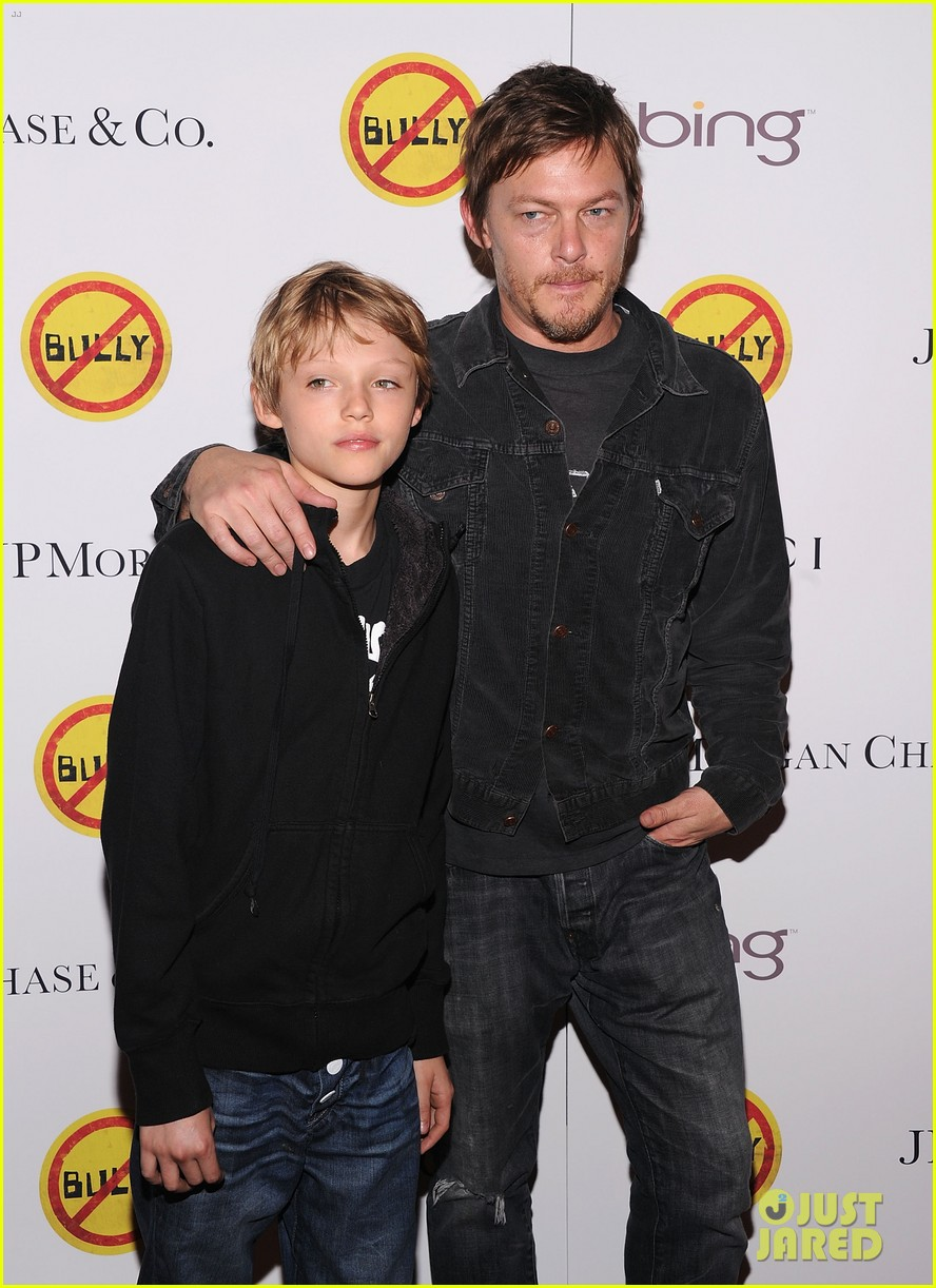 meryl streep norman reedus bully screening 012640734
