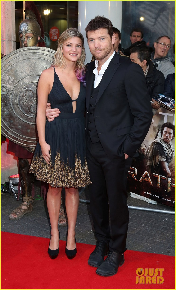 sam worthington wrath of the titans london premiere 012643496