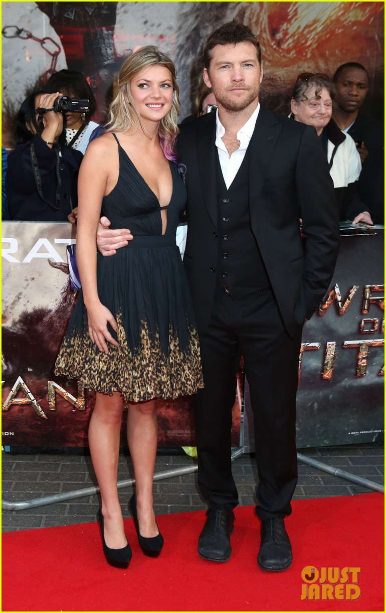 sam worthington wrath of the titans london premiere 09