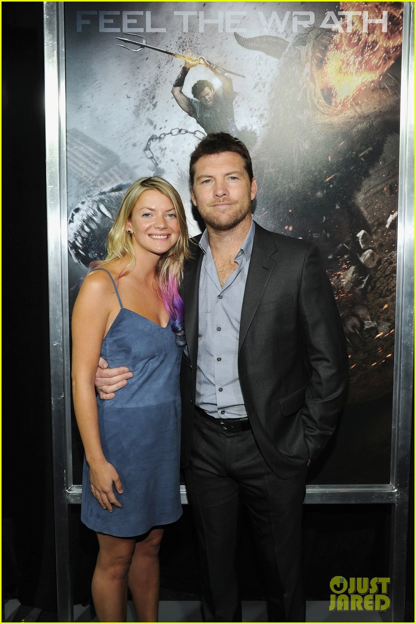 sam worthington liam neeson wrath titans premiere 11