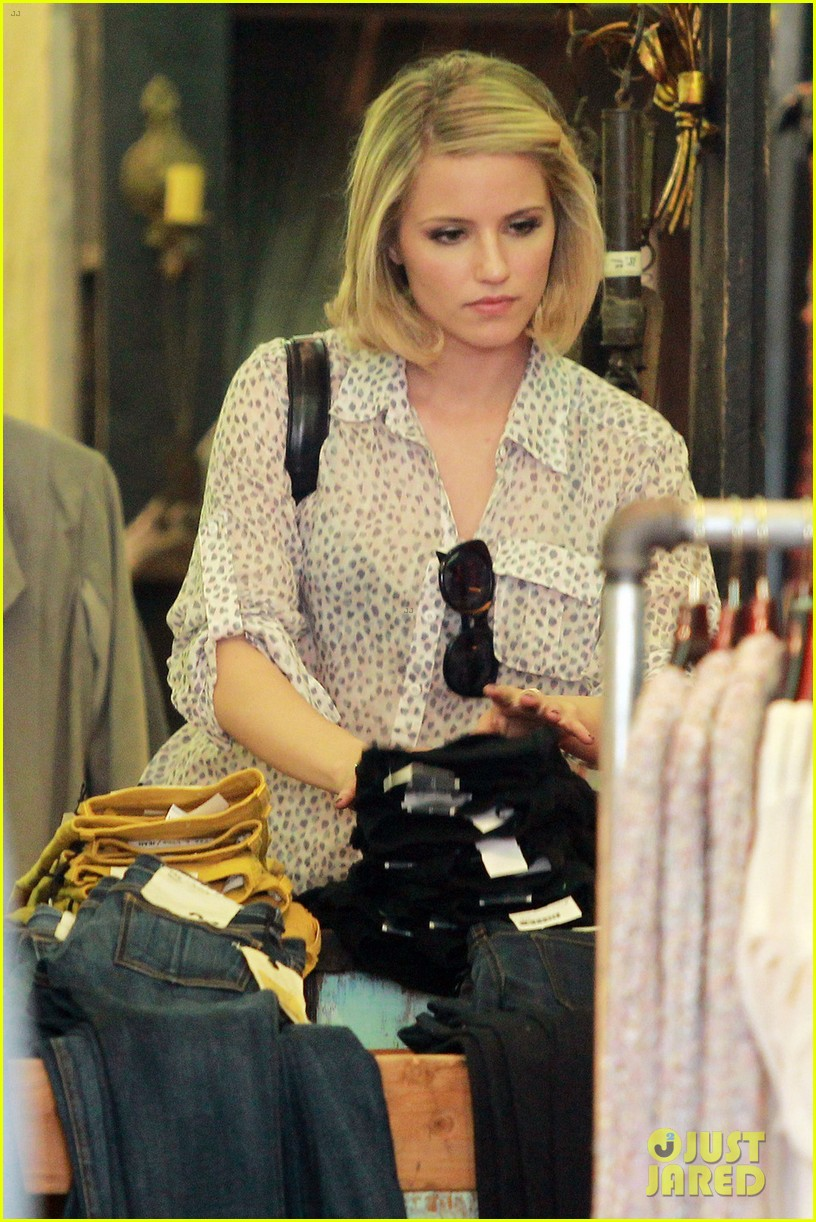 dianna agron jeans shopping 032645043