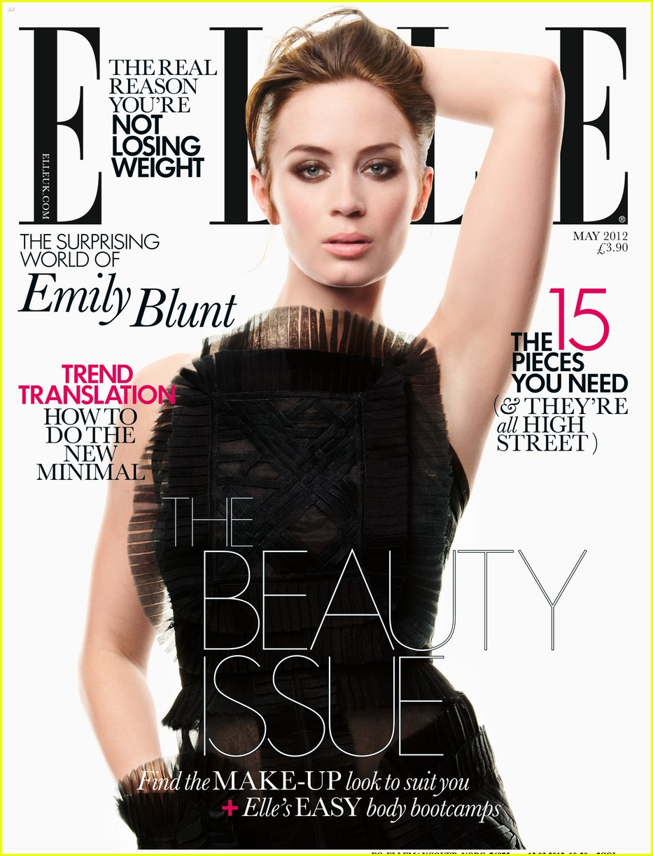 emily blunt elle uk 01