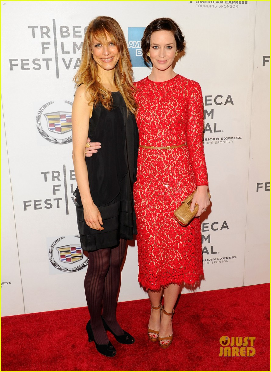 emily blunt your sisters sister premiere tribeca 012650995