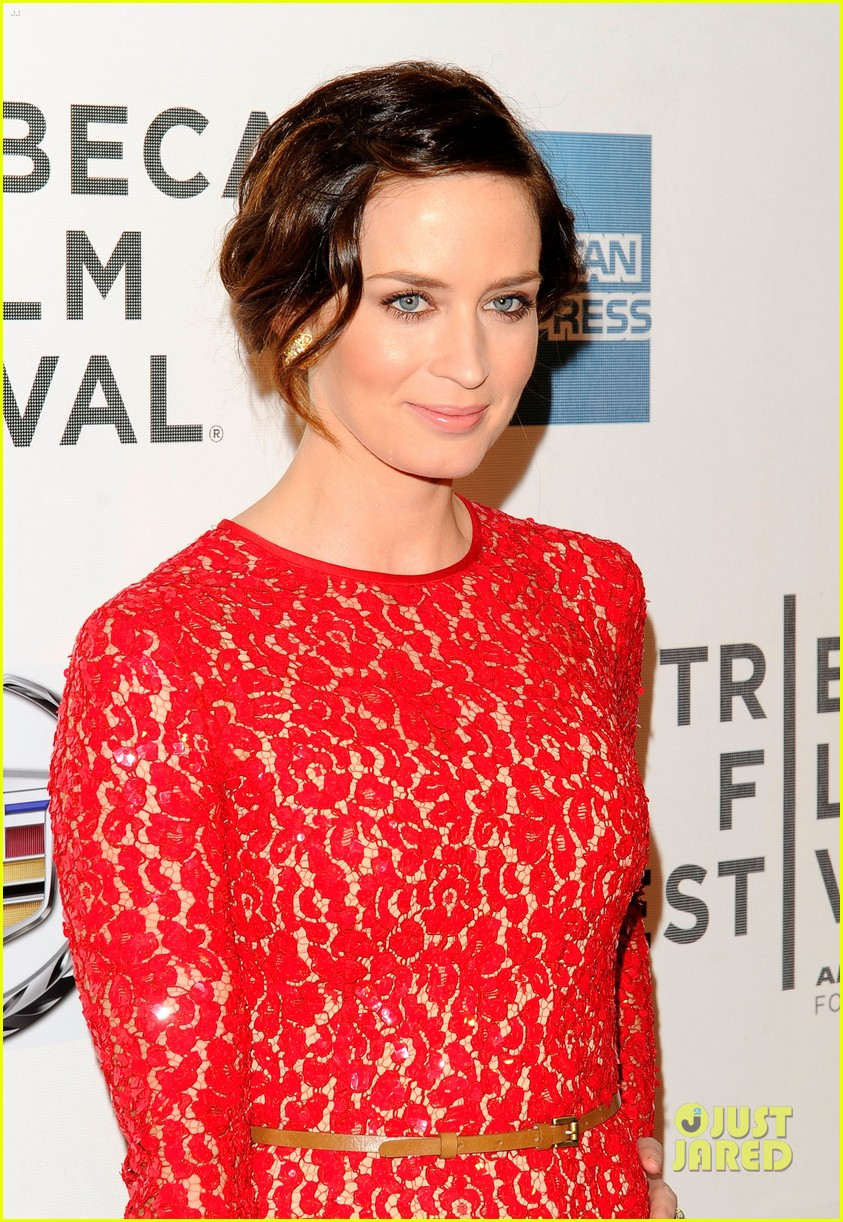 emily blunt your sisters sister premiere tribeca 08