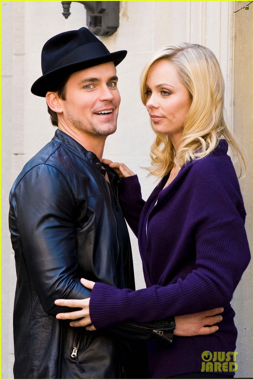 matt bomer laura vandervoort kiss for white collar 02