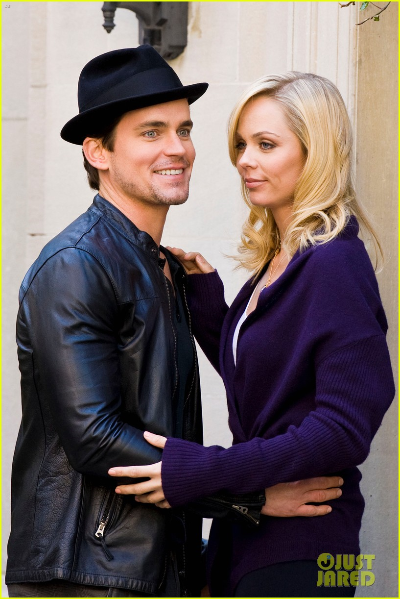 matt bomer laura vandervoort kiss for white collar 112648941