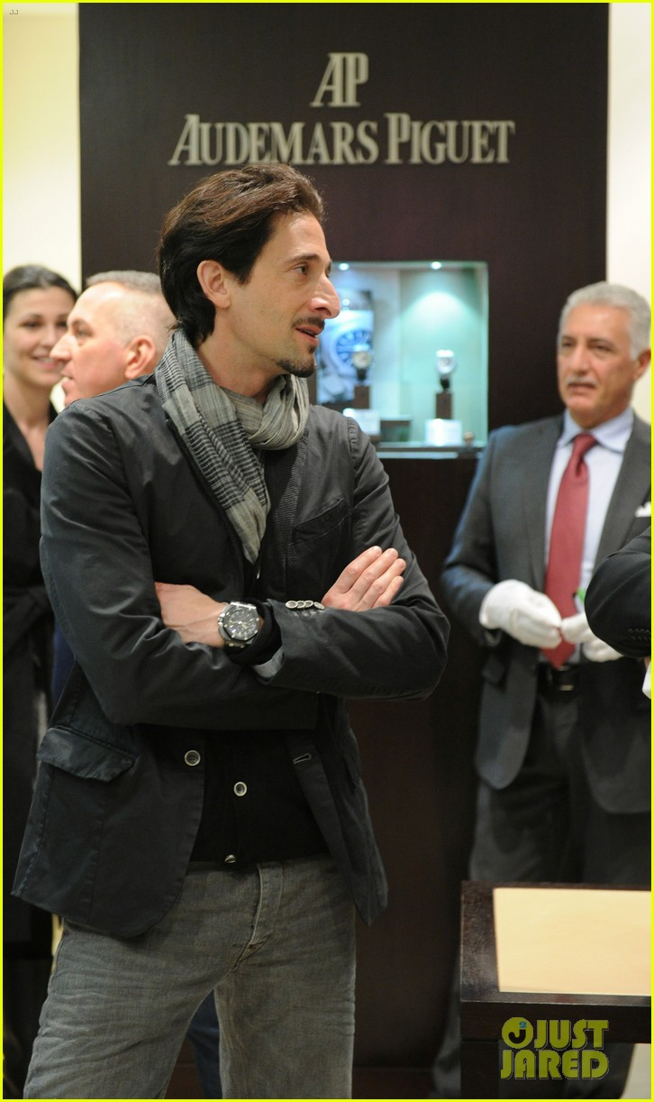 adrien brody royal oak 40 years cocktail party 082651153