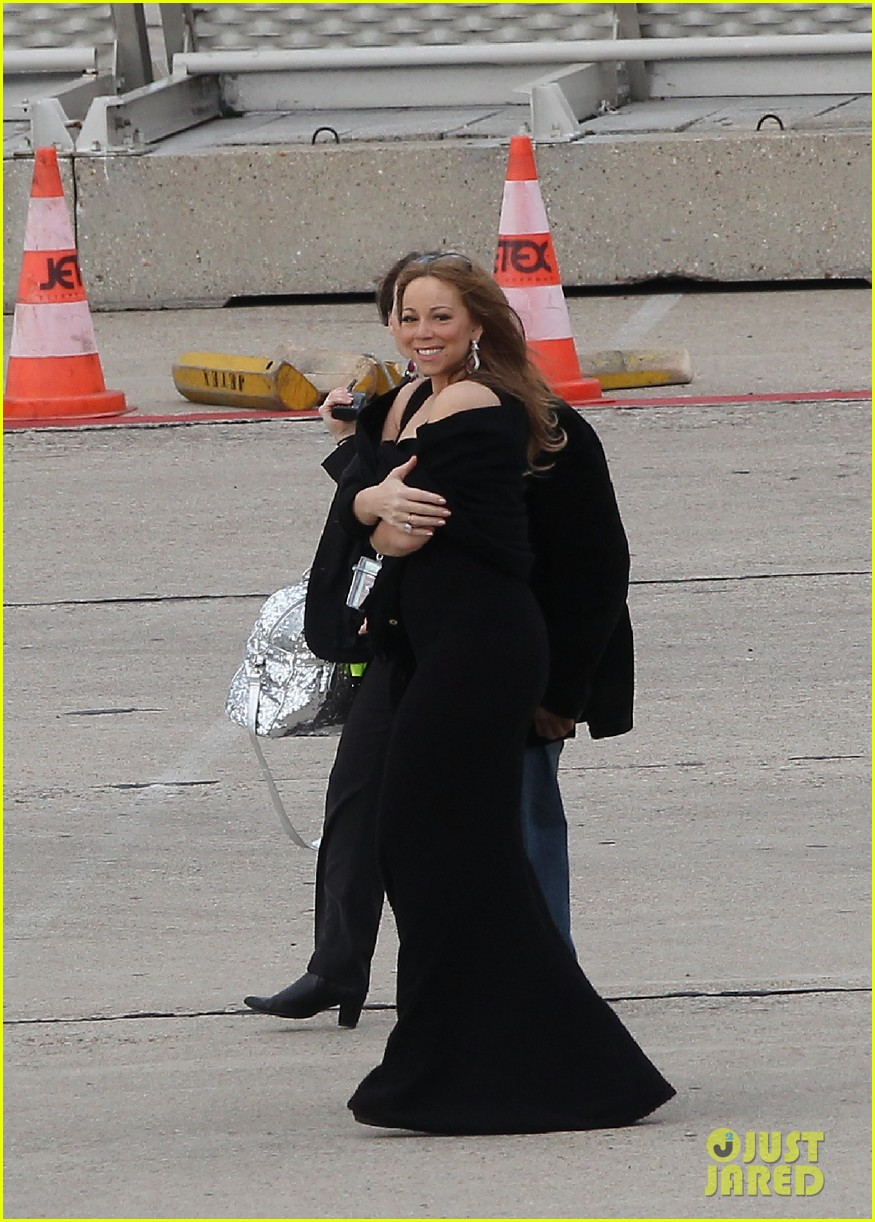mariah nick leaving paris 142655598