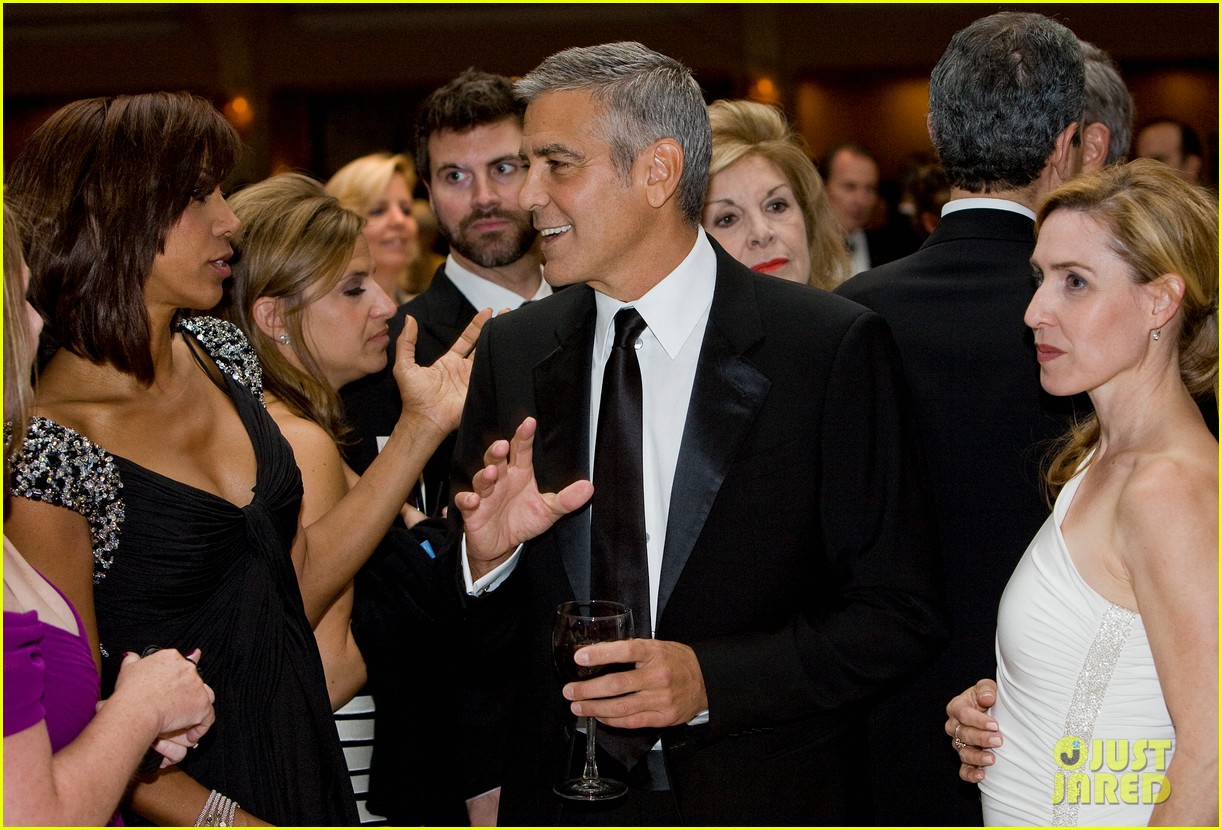george clooney white house correspondents dinner 2012 01