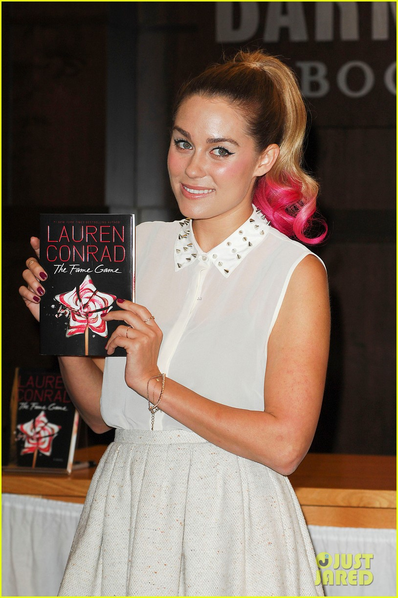 lauren conrad hot pink ponytail 04