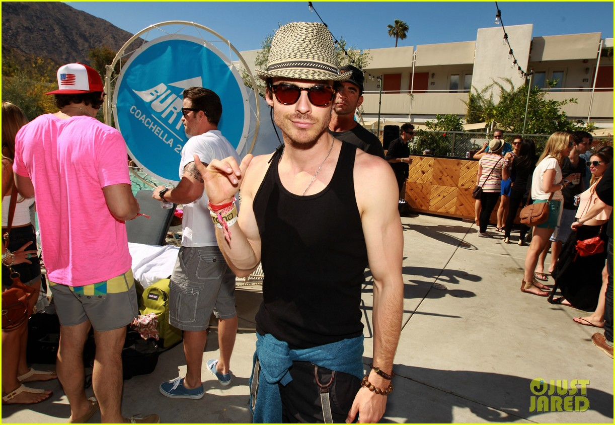 ian somerhalder nina dobrev burton pool party 05