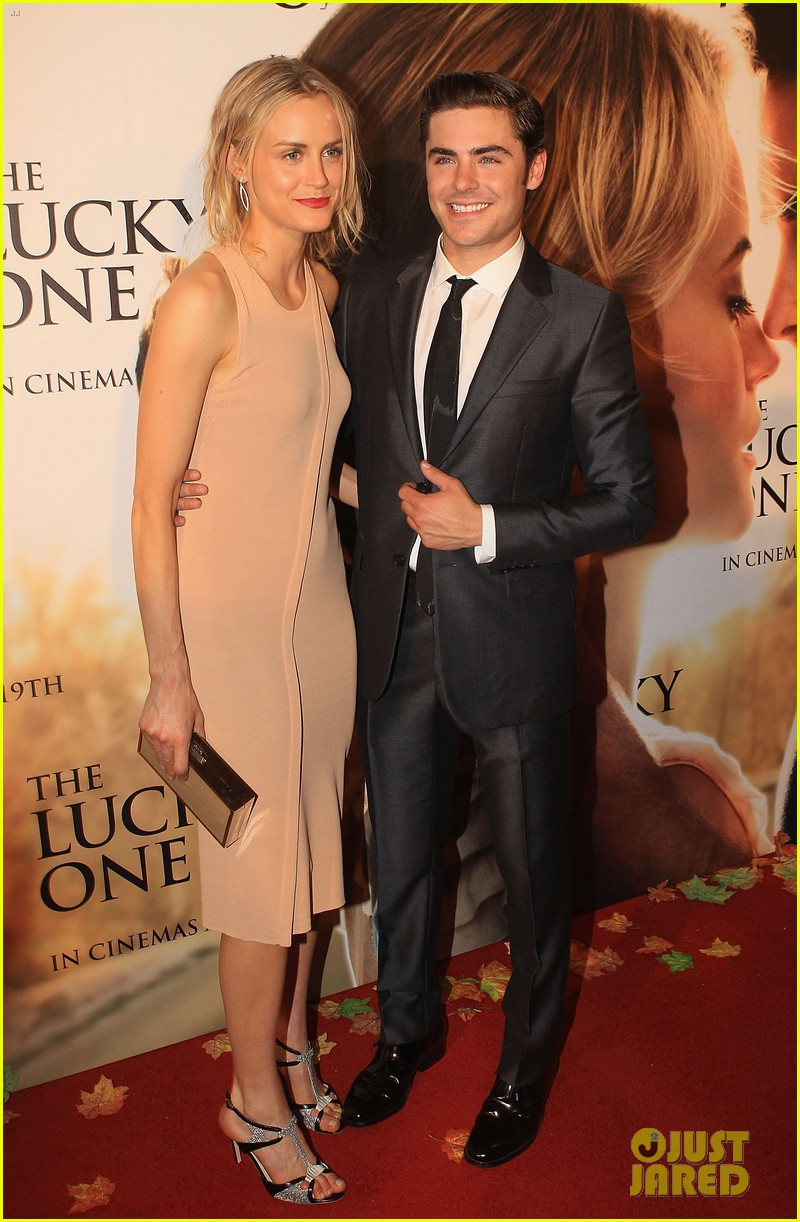 zac efron lucky one melbourne premiere with taylor schilling 06