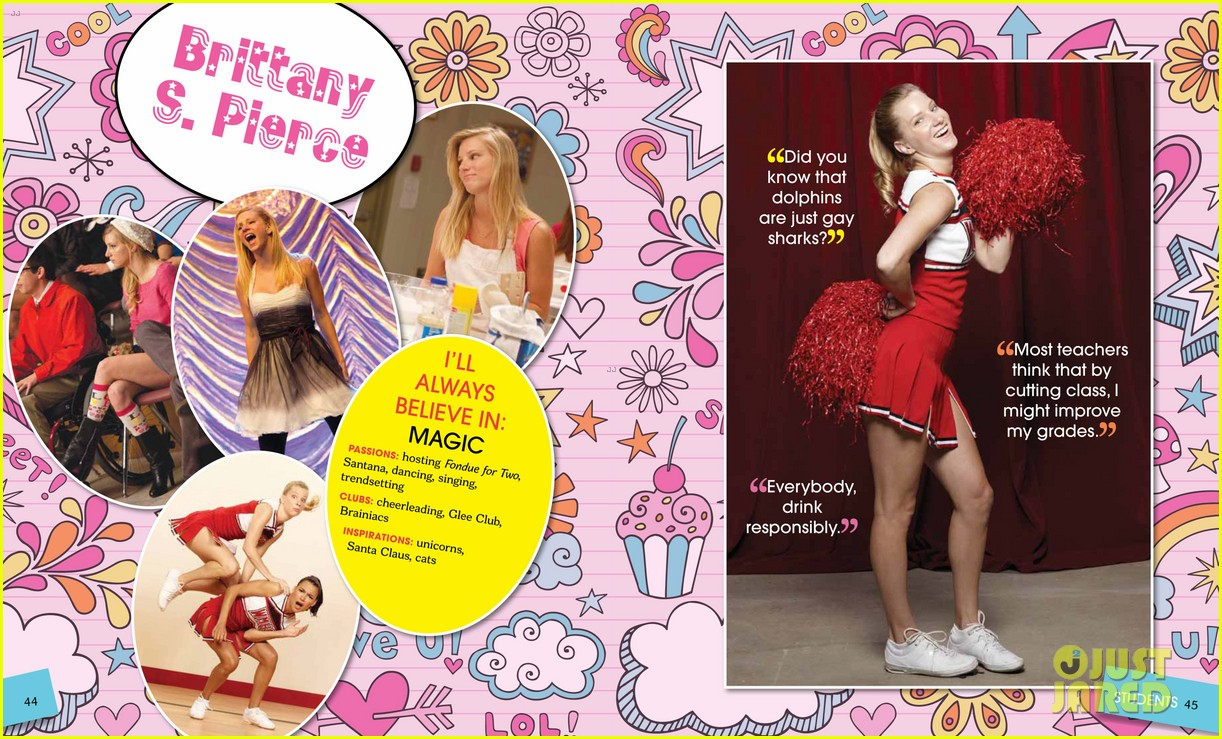 glee mckinley high yearbook exclusive inside look 03