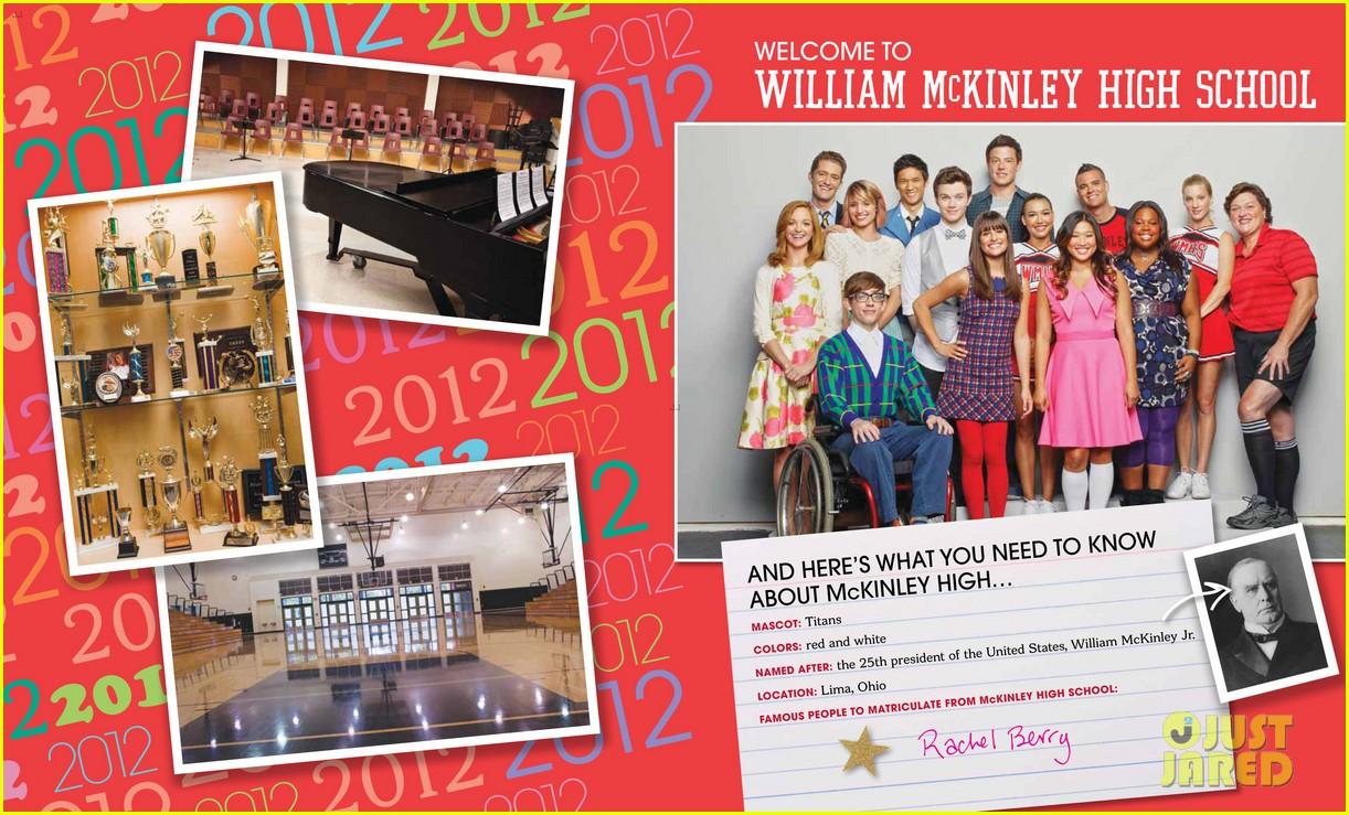 glee mckinley high yearbook exclusive inside look 052647461