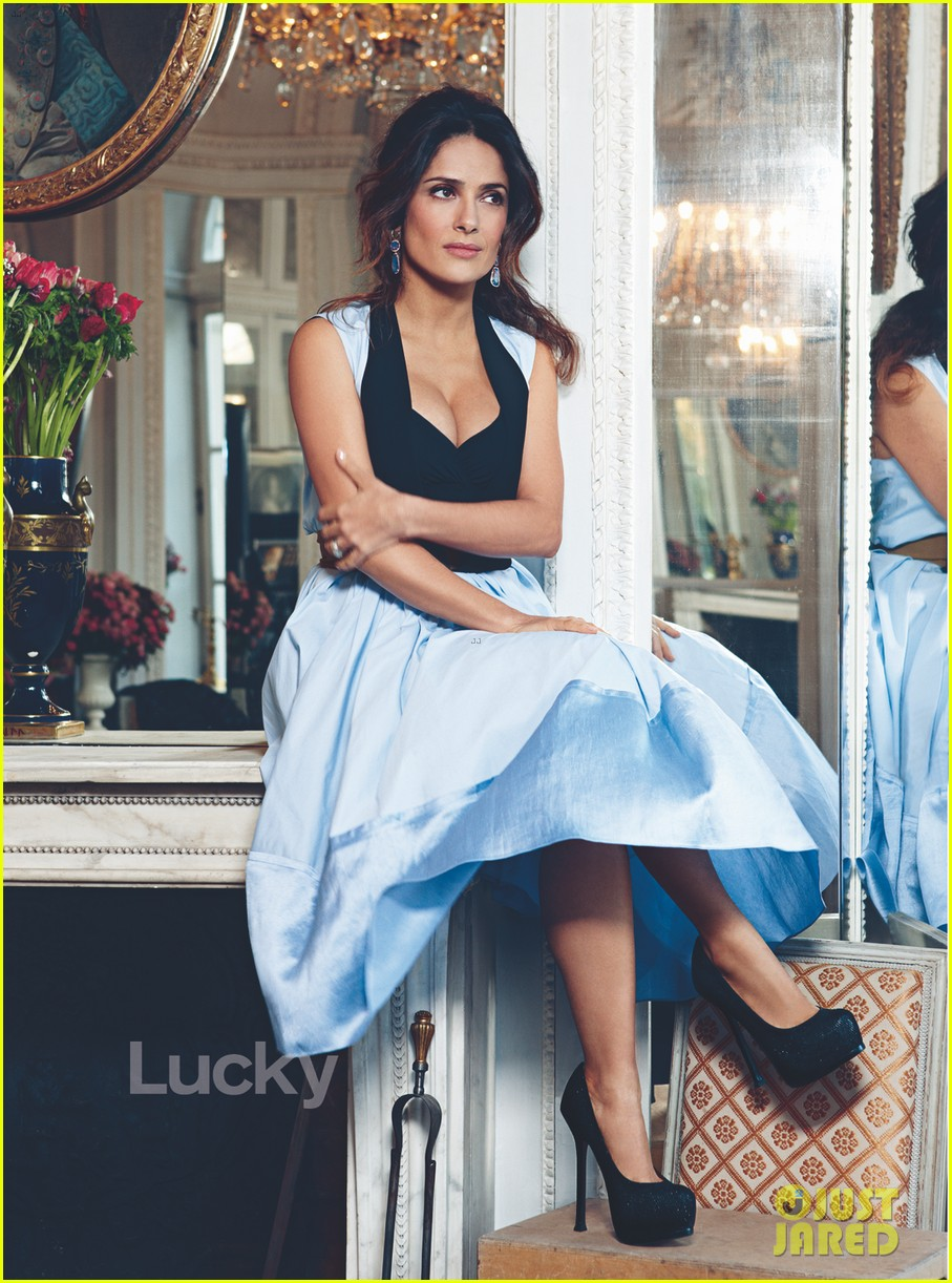 salma hayek lucky may 03