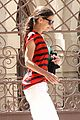 katie holmes red stripes 18