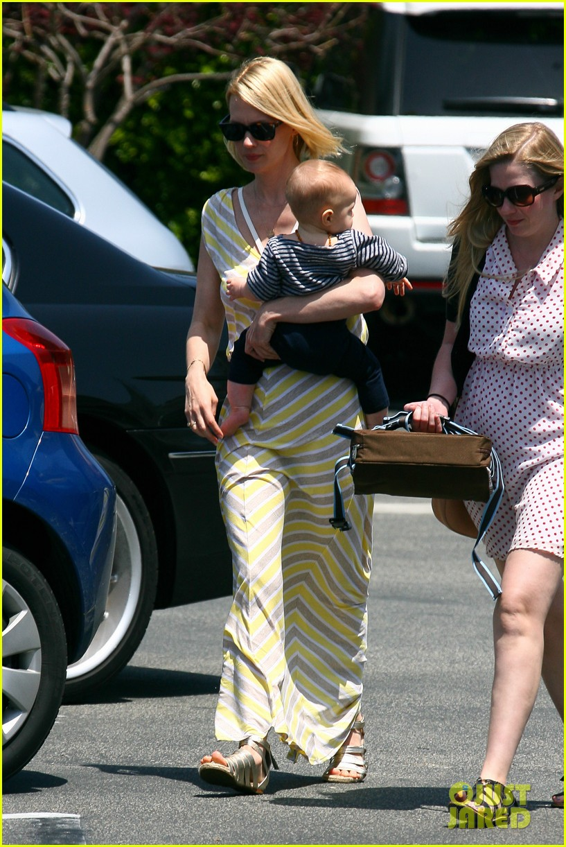 january jones xander lunch 072655551
