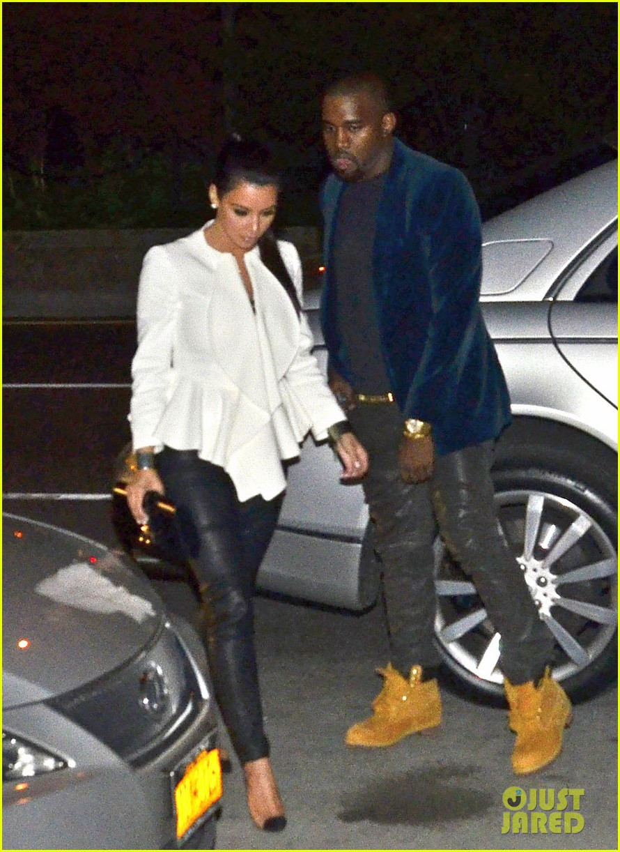 kim kardashian kanye west date night 05